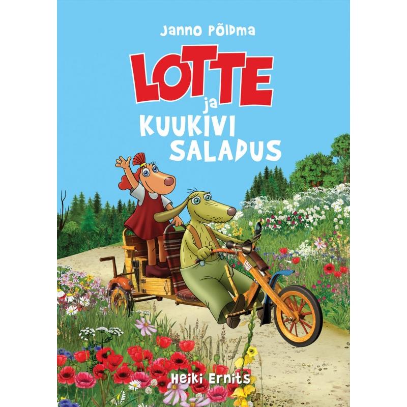 """Raamat """"Lotte ja kuukivi saladus"""""""