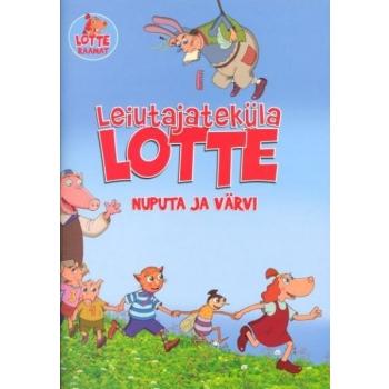 """Värviraamat """"Leiutajateküla Lotte nuputa ja värvi"""""""