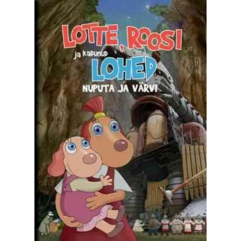 """Coloring book """"Lotte, Roosi and the lost dragons"""" EST"""