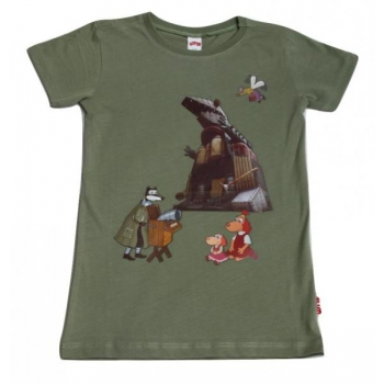 T-shirt with Lotte and Dragon