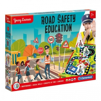 Lauamäng Road Safety  Clementoni Young Learners