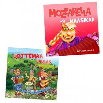CD Lottemaa laulab 1. ja 2. plaat!