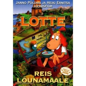 DVD Lotte reis lõunamaale