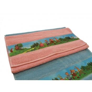 Hand Towel 50x70 4 Friends Pink