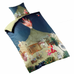 "Duvet Cover ""Lotte and Volcano"""