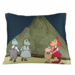 "Pillow Cover ""Lotte and Volcano"" 50x60cm"